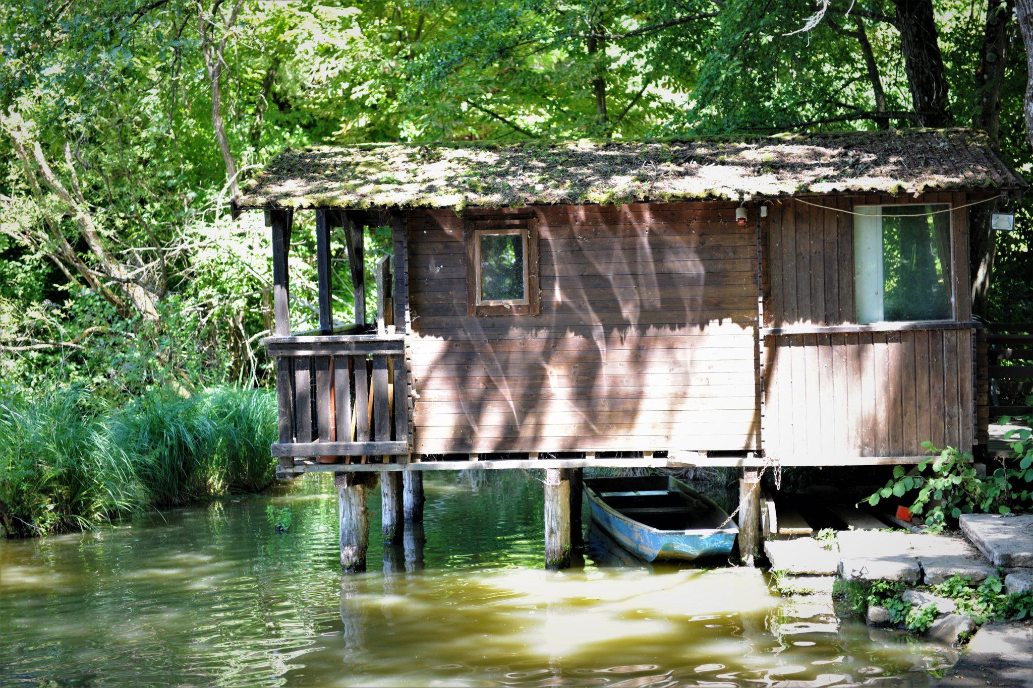 Ausflugsziel: Fischerhütte am Ziegelteich