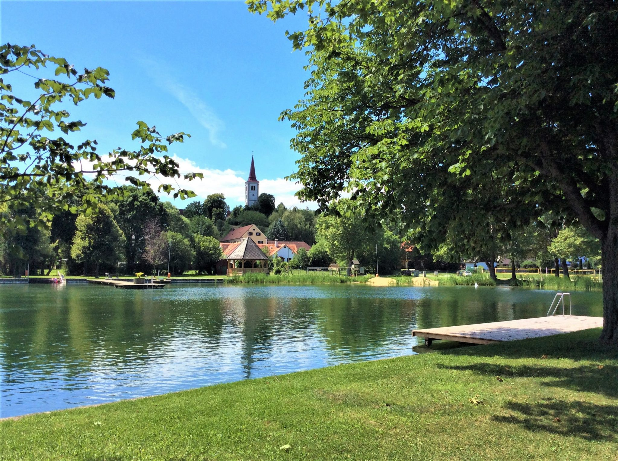 Ausflugsziel: Schlossbad Burgau